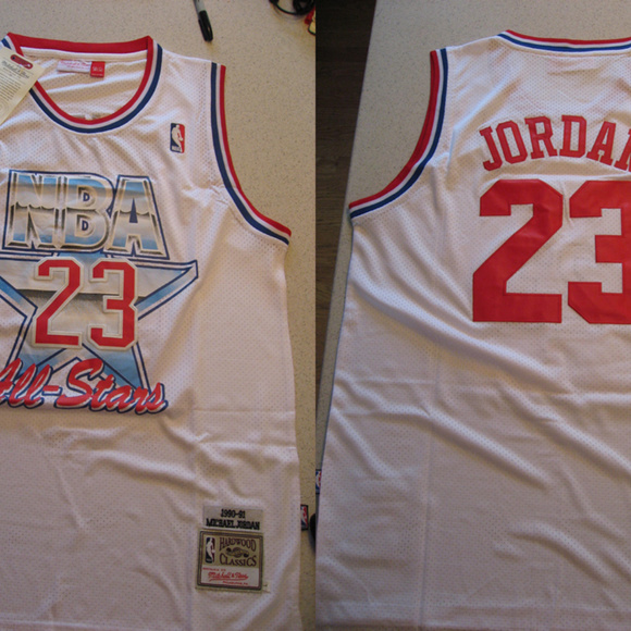 af9c7a45eb8 Mitchell & Ness Shirts | New Mitchell Ness Michael Jordan All Star ...
